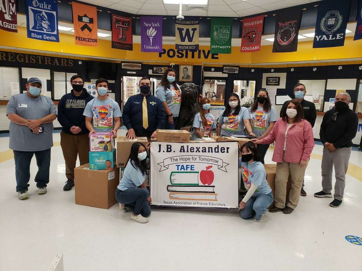 Alexander TAFE held a hygiene drive to help provide products for migrant families entering non-governmental organizations.