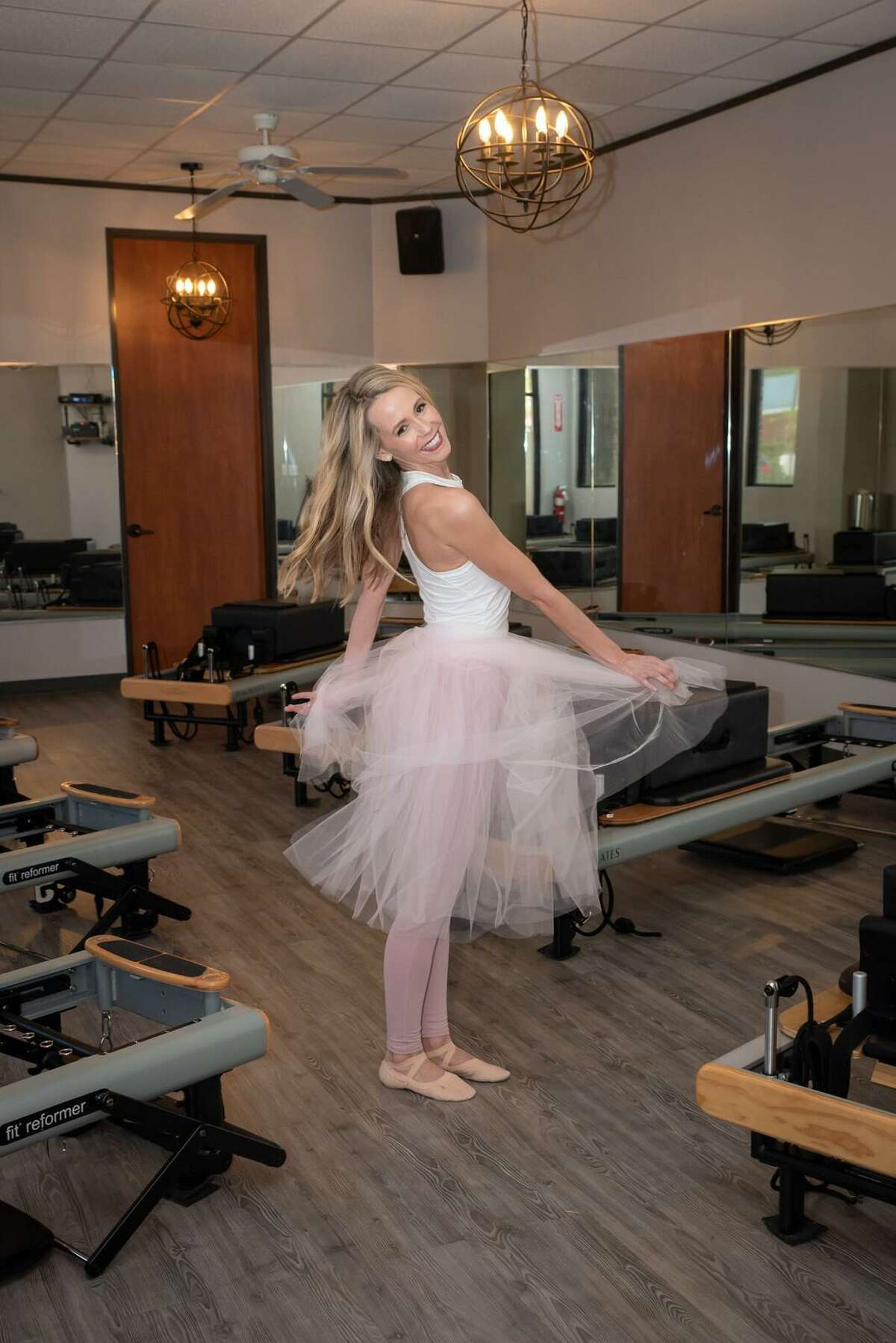 Victoria Simo is the owner of Ballet and Pilates by Victoria, at 15544 Ridge Park Drive in northwest Houston.
