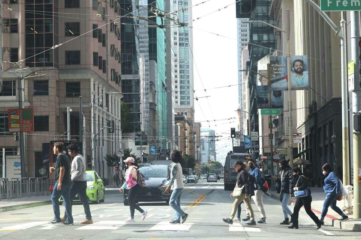Gov. Gavin Newsom on Friday vetoed a measure to decriminalize jaywalking.