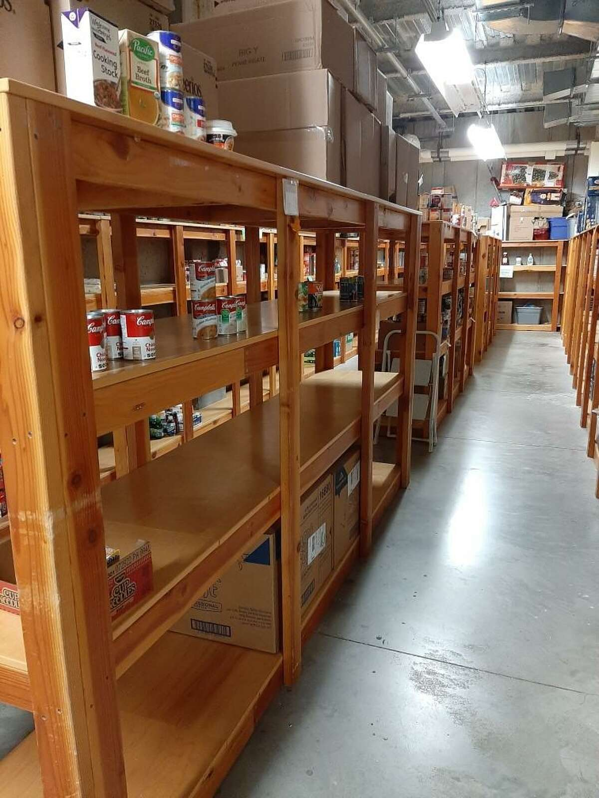 Spooner House officials are calling on the community for donations to help restock the shelves at the Valley Food Bank.