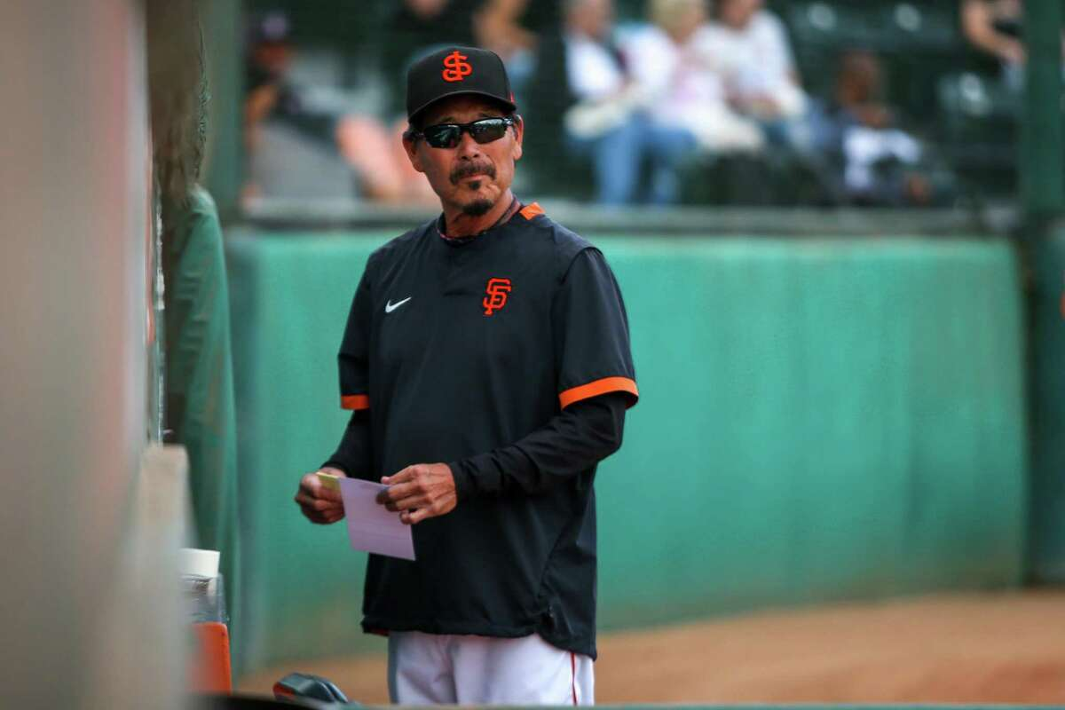San Jose Giants manager Lenn Sakata is one of the most accomplished minor-league managers in baseball history, with California League managerial records for wins (757), championships (3), playoff appearances (8), playoff wins (33) and years managed (11).