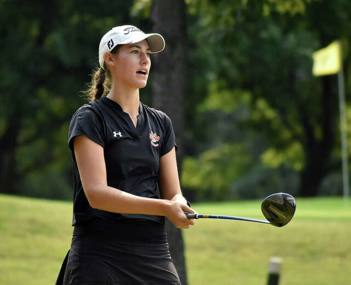 Edwardsville junior Nicole Johnson became the 12th golfer in program history to earn state medalist honors with a 12th-place finish at the Class 2A state tournament.