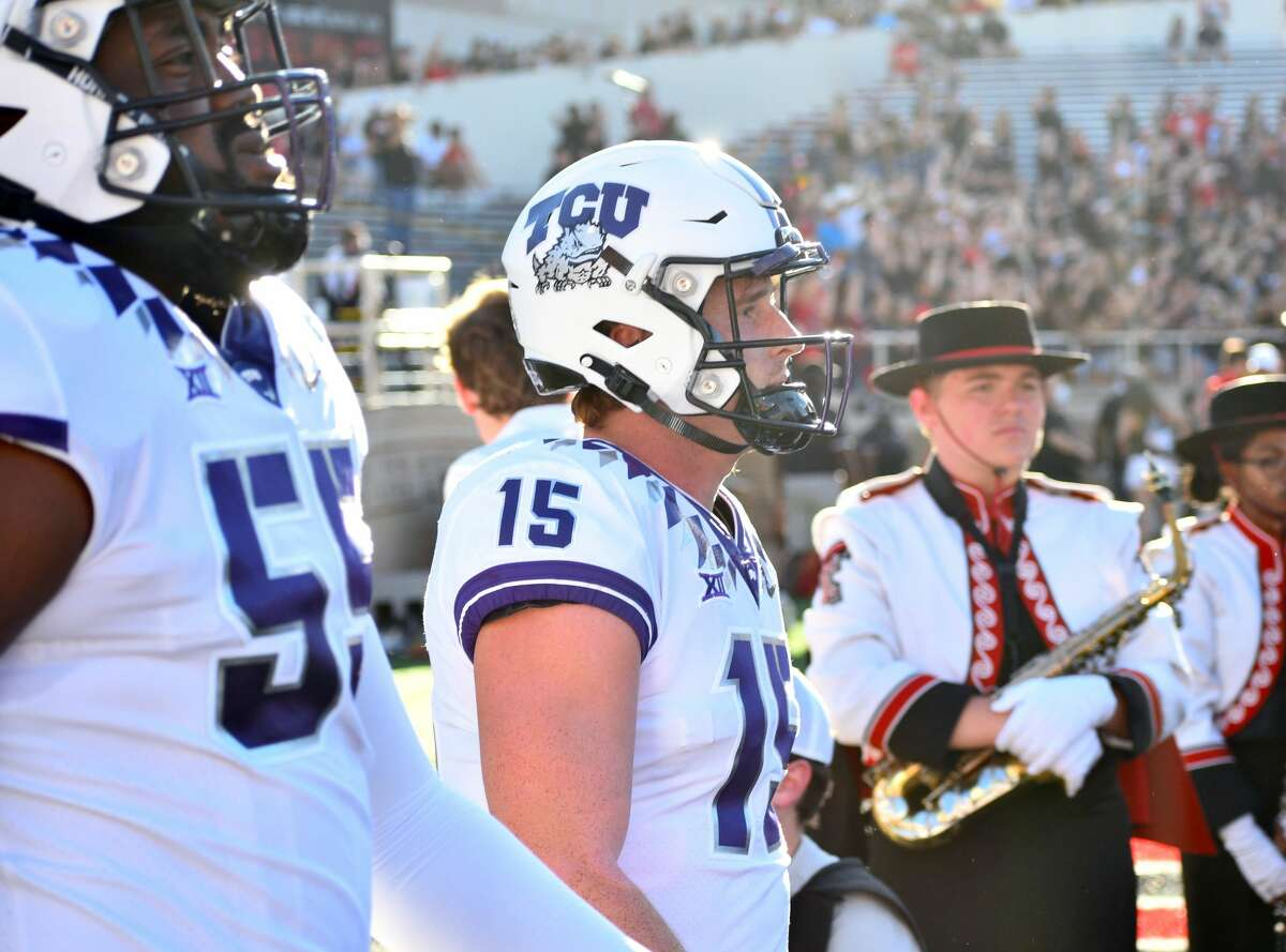 TCU defeated Texas Tech 52-31 in a Big 12 conference football game on Saturday in Jones AT&T Stadium at Lubbock.