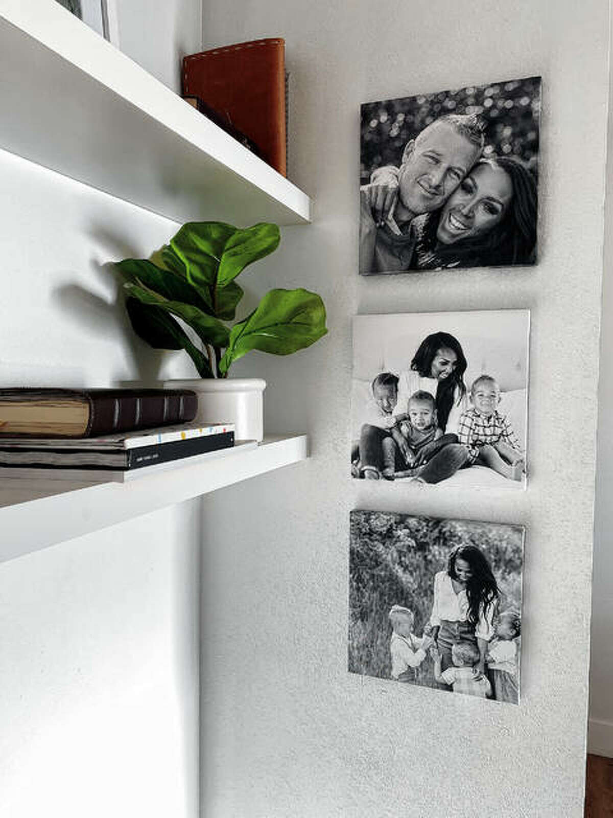 Chatbooks lets you connect your Instagram or camera roll to create beautiful photo books, prints, cards - or these lovely wall tiles. Images are printed on square canvas frames equipped with moveable adhesive backing, perfect for renters and owners.
