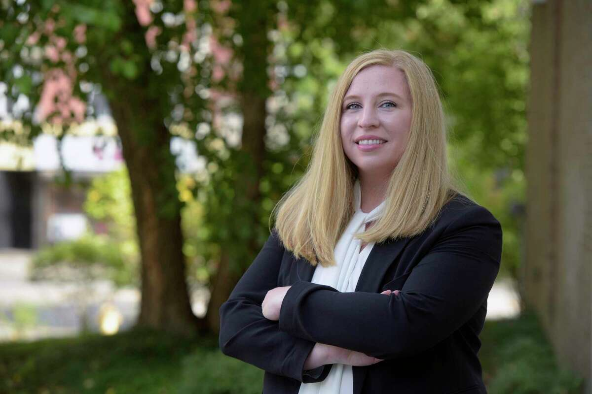 Kara Prunty is the new Director of Health and Human Services for the city of Danbury. Thursday, October 7, 2021, Danbury, Conn.