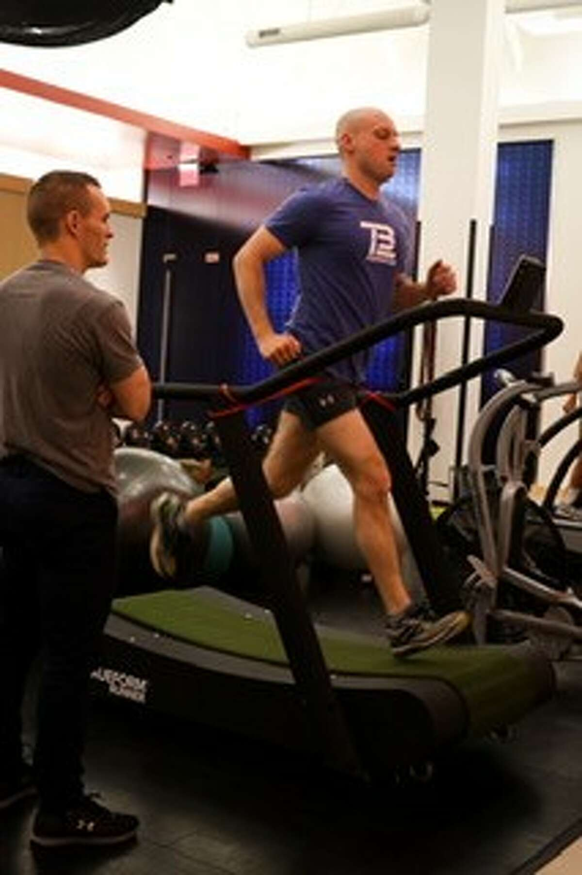 Former La Salle Institute and Union College football playerKevin Flike began training at TB12 in Foxborough, Mass.