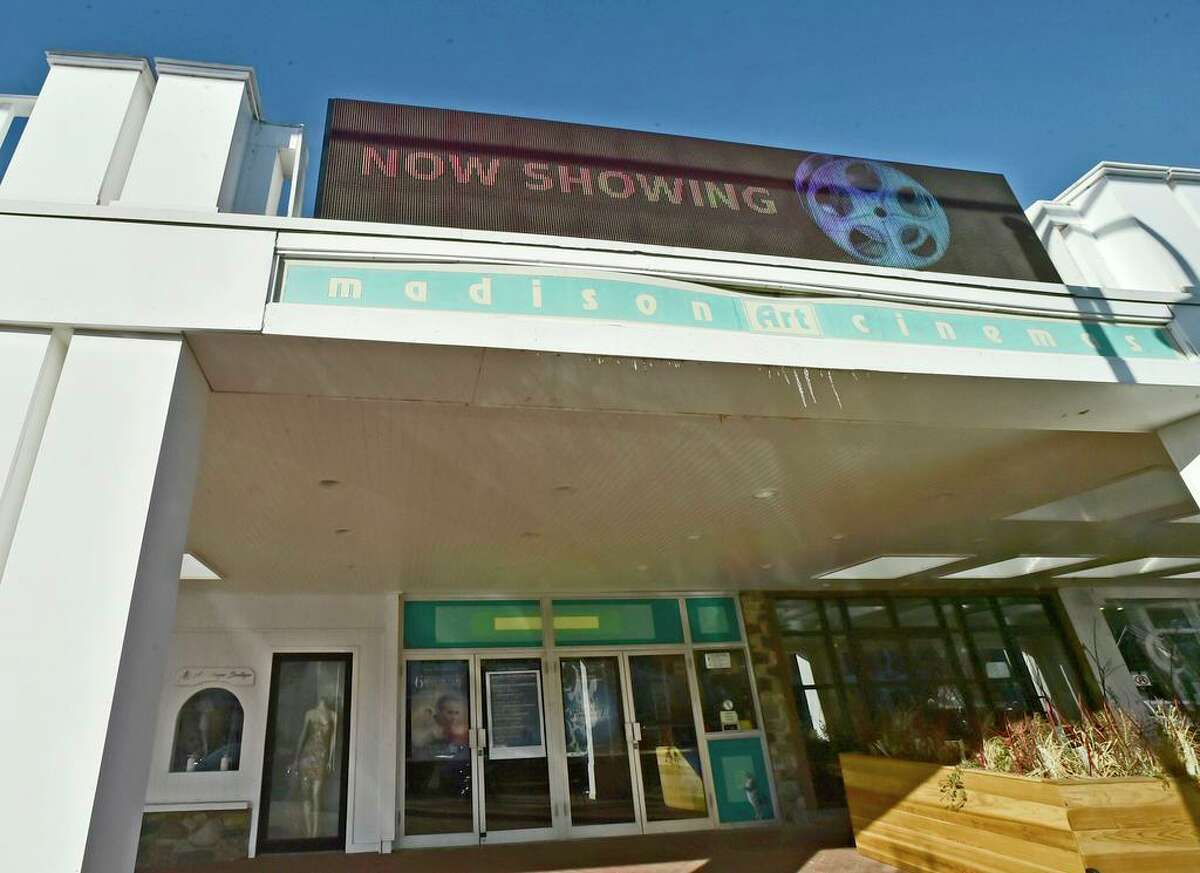 Madison, Connecticut - Wednesday, January 31, 2018: Madison Art Cinemas, of downtown Madison, has a new high-resolution full color digital LED marquee.The digital sign, that can display motion graphics, has a price tag of $30,000 plus ancillary costs. Cinema owner Arnold Gorlick says that climbing a 12-foot ladder and putting up lettering by hand on the old Marquee has become a task, especially in poor weather conditions.