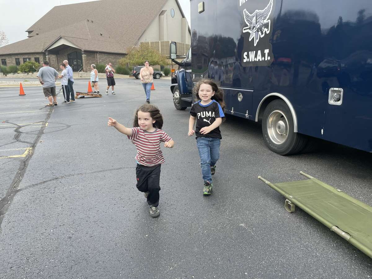The National Faith & Blue event on Sunday, Oct 10 in Midland brought together community members, law enforcement and the Calvary Baptist Church.
