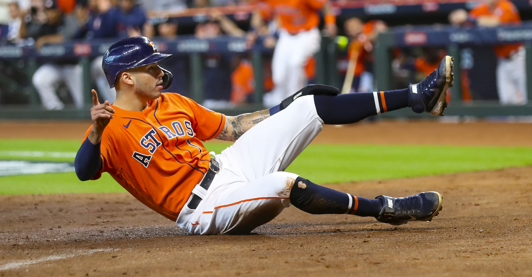 Astros' Carlos Correa is one of the best pressure players Dusty Baker's ever seen - Houston Chronicle