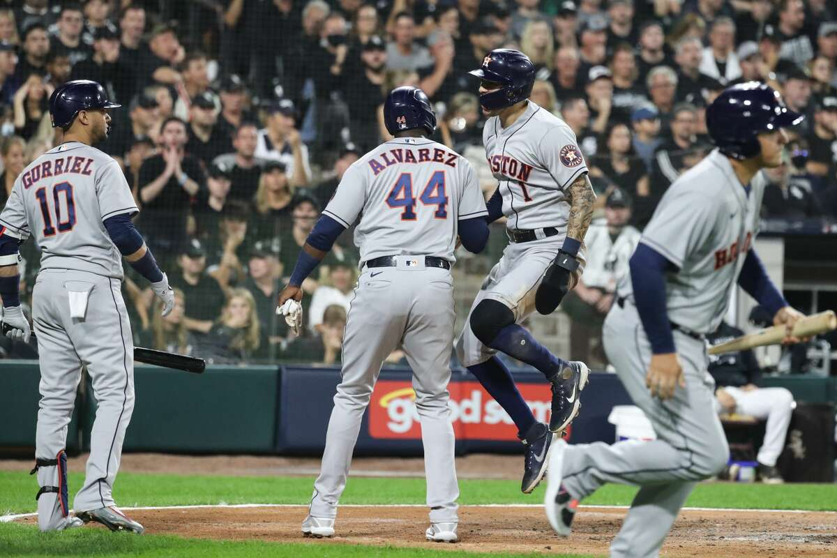 The Astros will have to wait one more day for a chance to clinch their ALDS against the White Sox after Game 3 was postponed to Tuesday afternoon because of weather concerns.