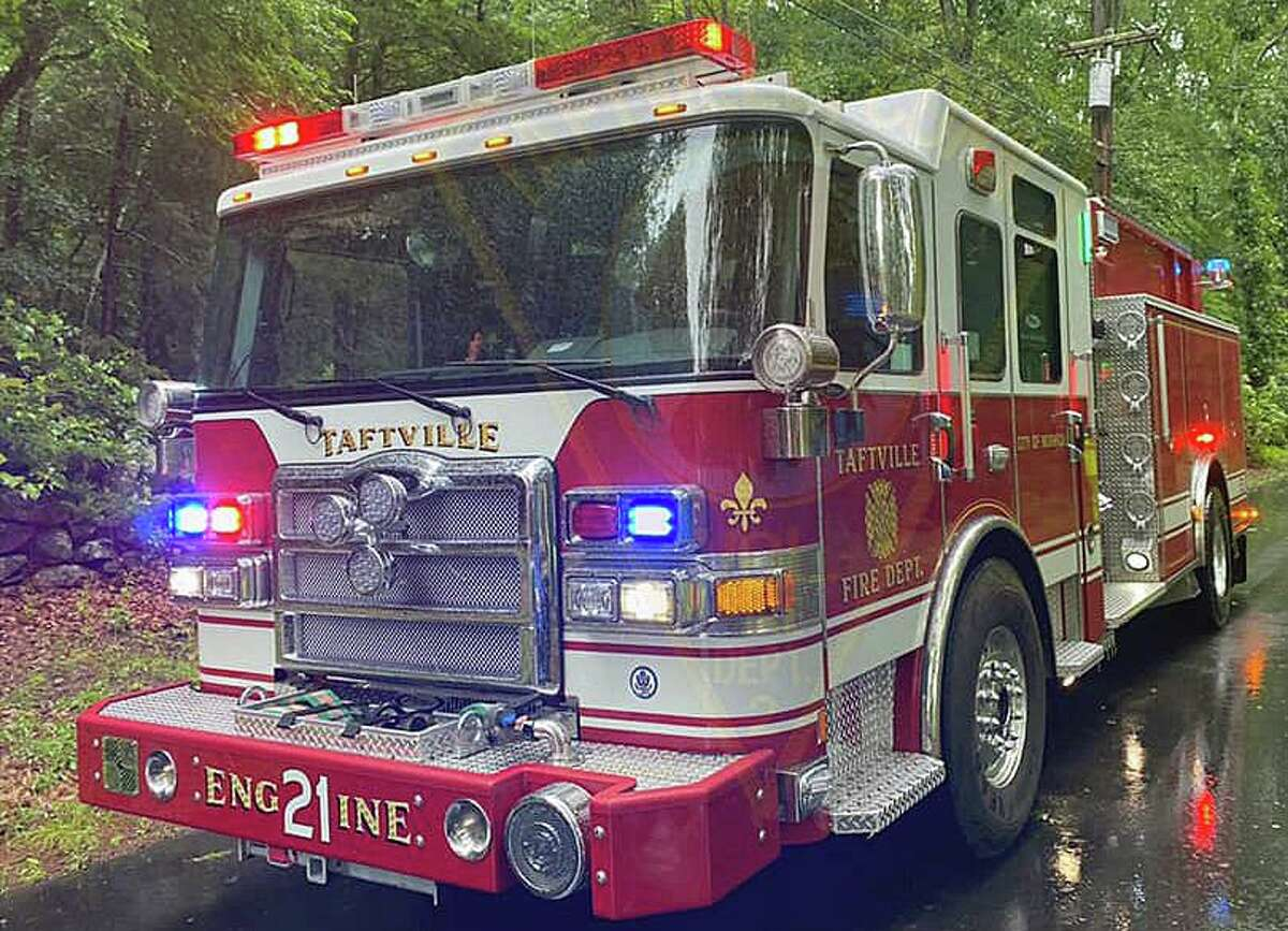 Fire crews extinguished a blaze on Beebe Road, at a home listed for sale, on Saturday, Oct. 9, 2021, according to officials. Police said the cause of the fire has been deemed suspicious.