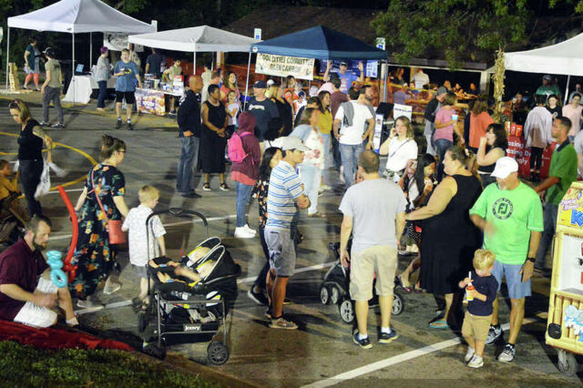 A large crowd turned out Saturday night for Glenfest at Miner Park in Glen Carbon. The event returned after a two-year absence.