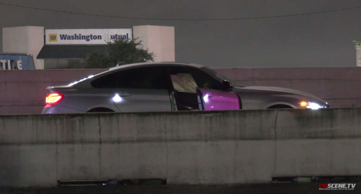 A woman was hit by two cars and killed on Monday, Oct. 11, 2021 while running across the Southwest Freeway.