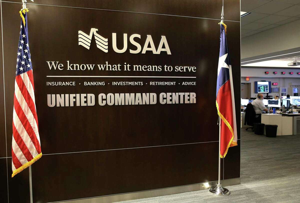 About 19,000 of USAA's 35,000 employeed work in San Antonio.