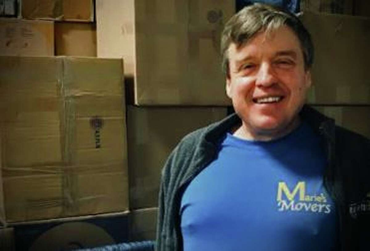 Jim Anctil is owner of Marie's Movers, which has helped settle refugees in Connecticut in recent years.