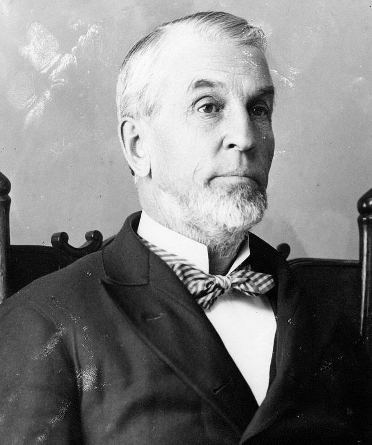 R.G. Peters was the Mayor of Manistee at the time of the Great Fire of 1871. (Manistee County Historical Museum photo)