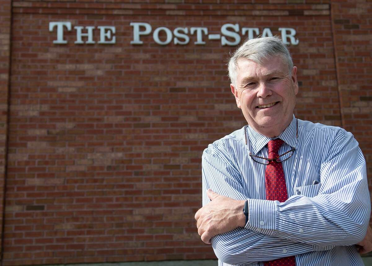 """Ken Tingley, former editor of the Post-Star in Glens Falls, recently released """"The Last American Editor."""""""