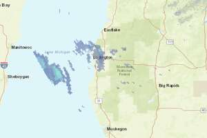 A storm system that is expected to hit Manistee and Benzie Counties Monday could become severe, according to the National Weather Service.