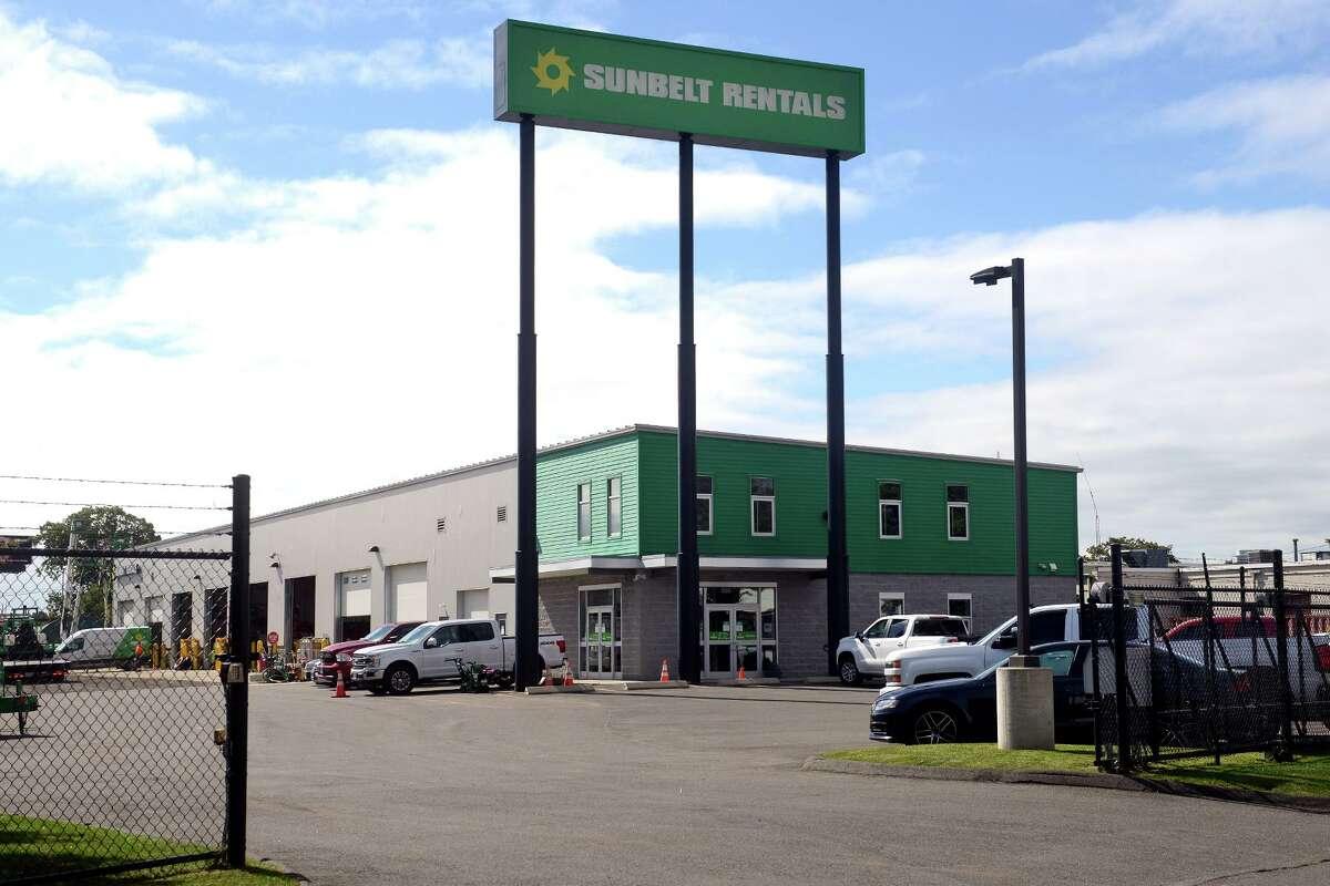 Sunbelt Rentals, 85 Mead St. in Stratford, Conn. Oct. 6, 2021.