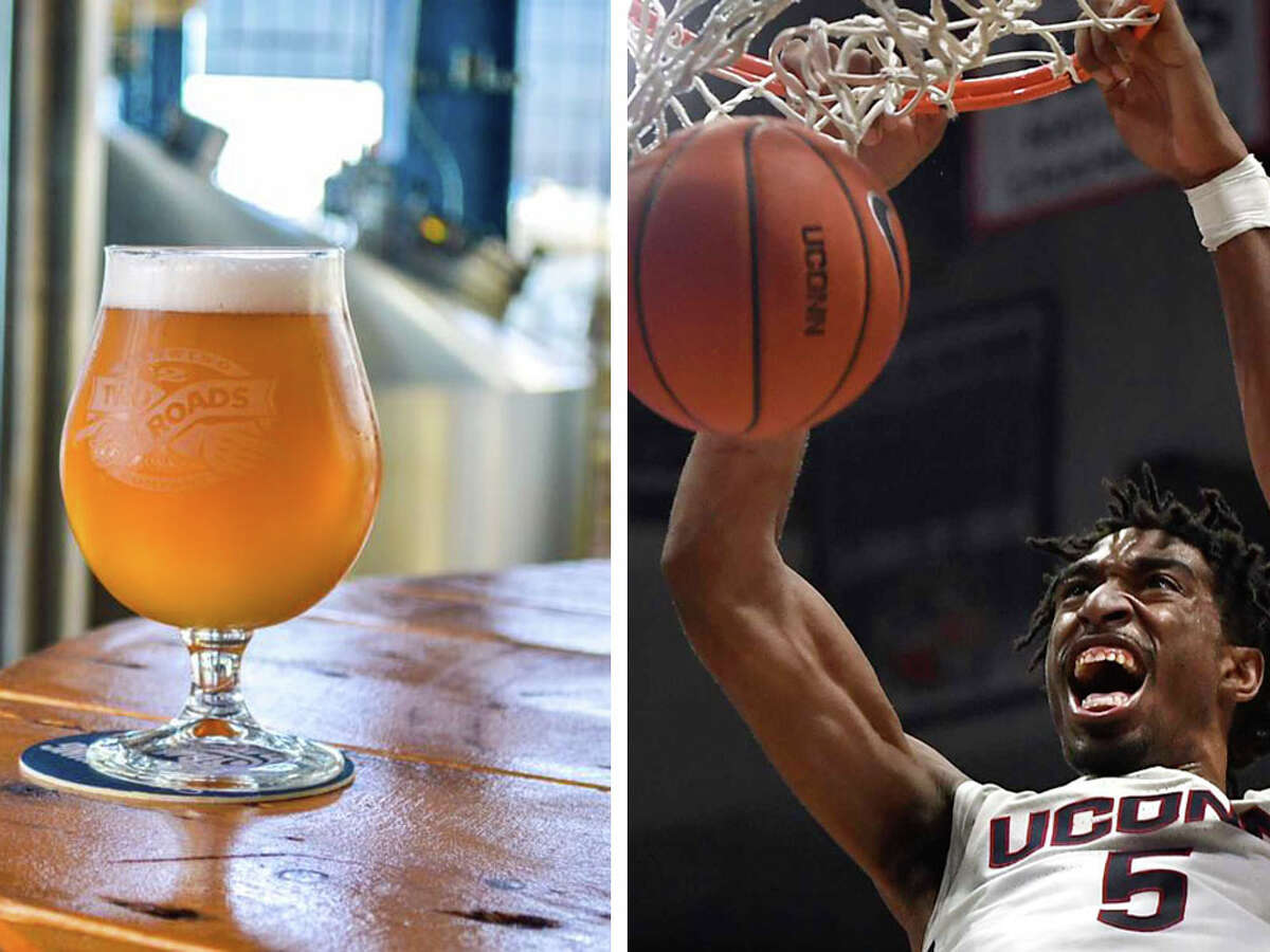 TwoConn is the new collaborative beer between UConn Athletics and Two Roads Brewing Company in Stratford.
