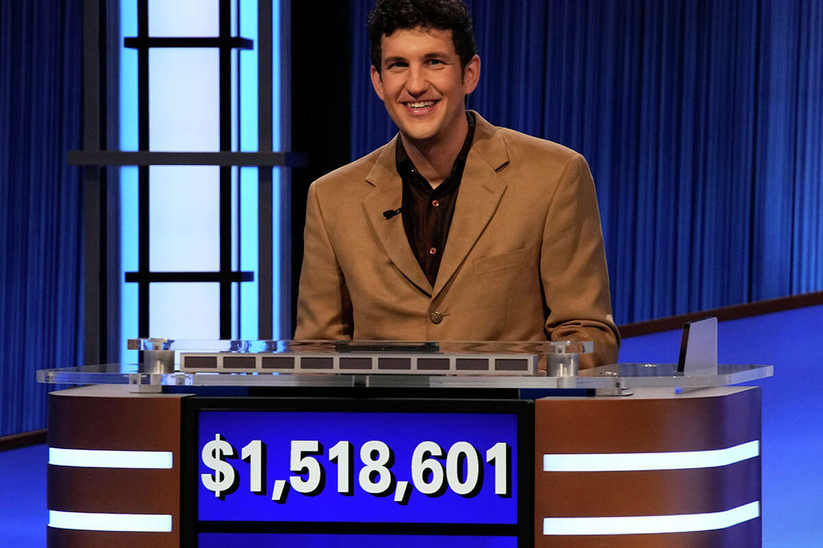 Yale's Matt Amodio ends 'Jeopardy!' win streak with over $1.5M