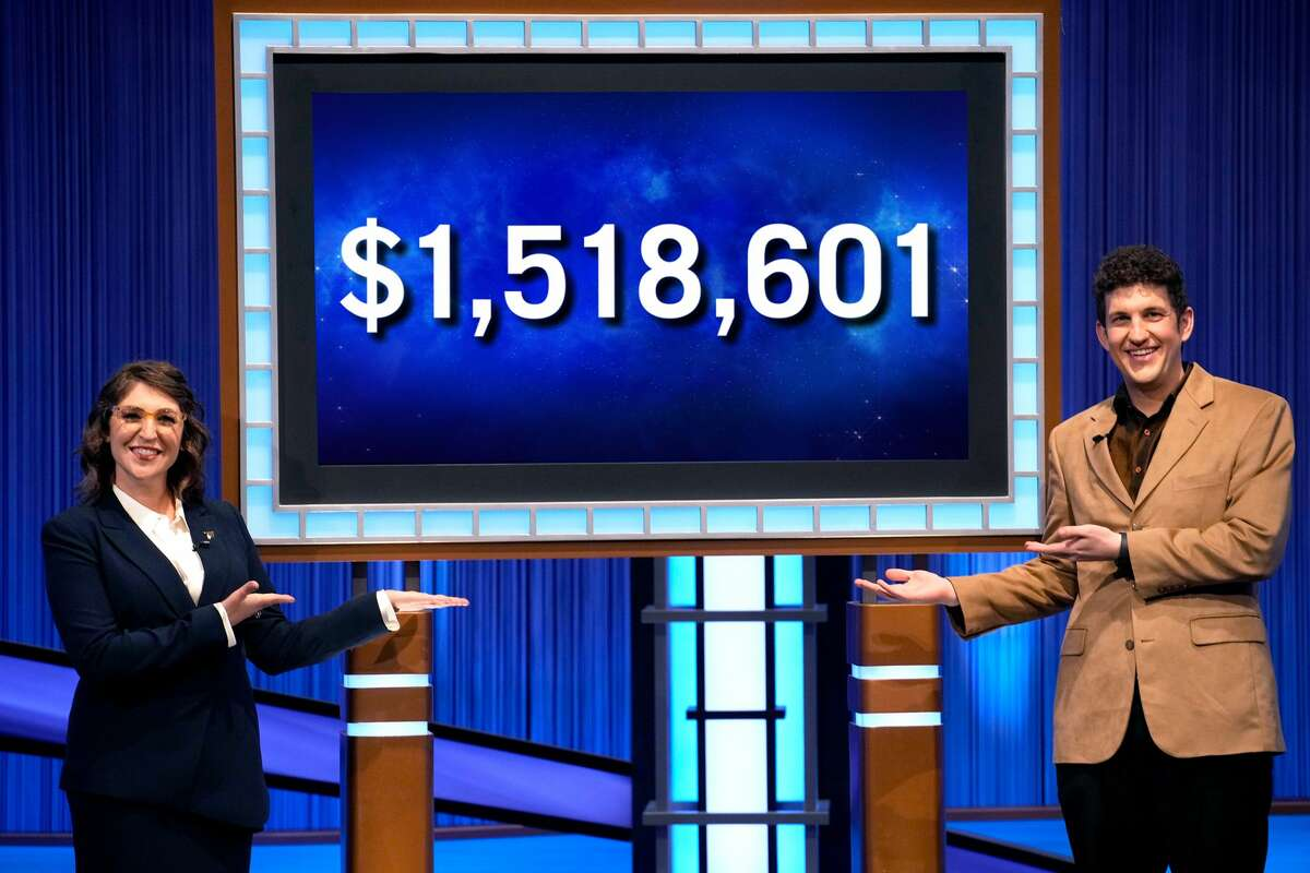 """Yale University Ph.D. student Matt Amodio concluded his 38-game winning streak on TV quiz show, """"Jeopardy!"""" with over $1.5 million in total earnings."""