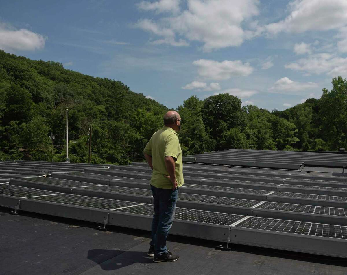 Nod Hill Brewery's rooftop solar array offsets 100 percent of its electrical usage and pushes more than 5,000 kWh back into the power grid each year.