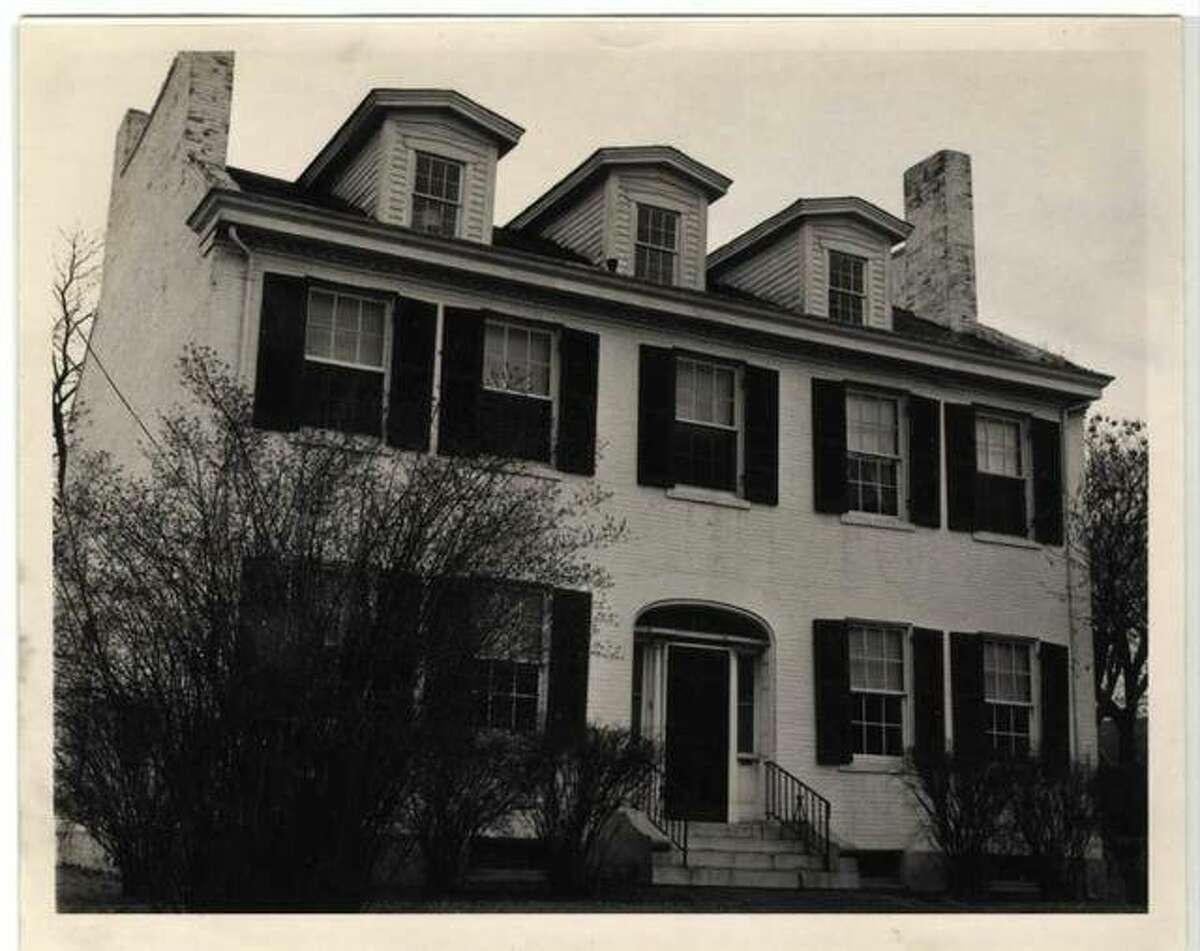 A vintage 1963 picture of the Madison County Historical Museum when it was purchased by the Madison County Historical Society.