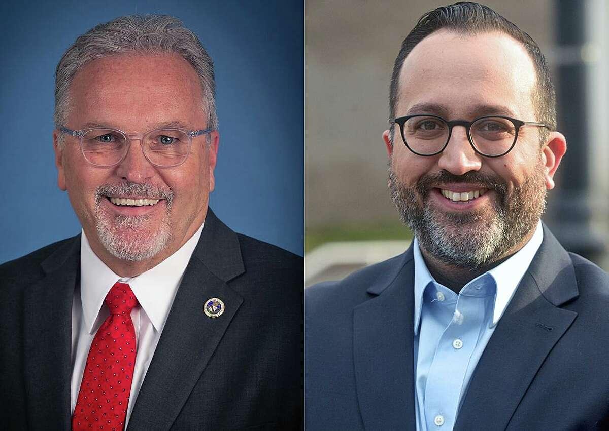 Republican Dean Esposito, left, Democrat Roberto Alves, right