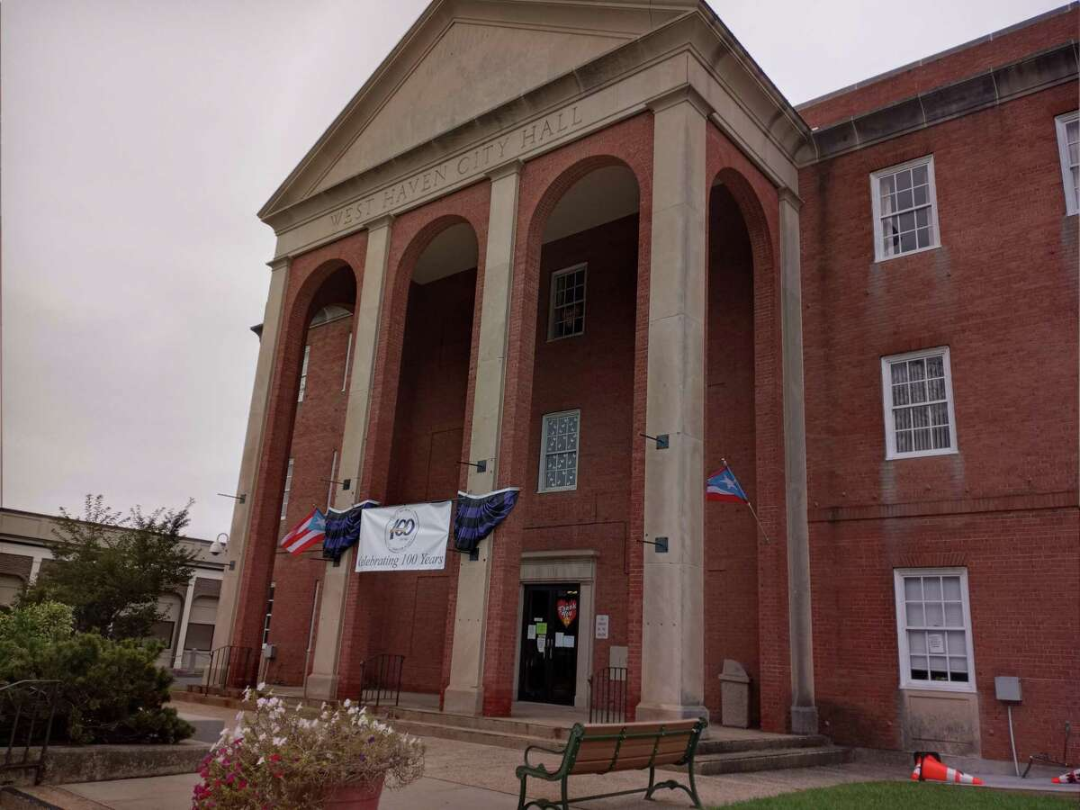West Haven City Hall, West Haven, Conn. October 2021