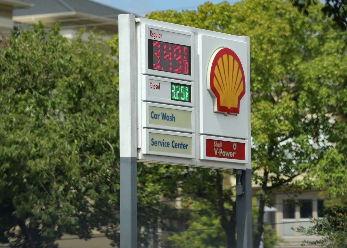 Gas prices are up around Houston on Monday, Oct. 11, 2021. Oil prices jump over $80 a barrel for the first time since 2014.