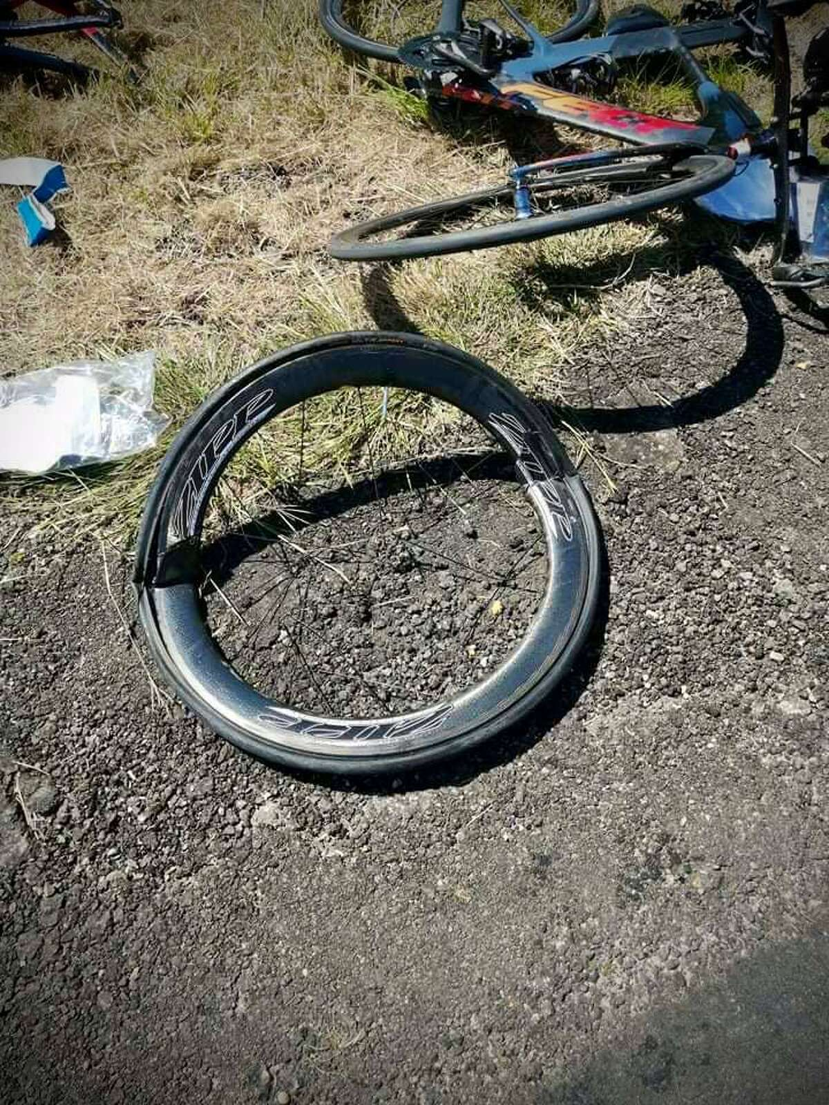 Six bicyclists were injured Sept. 25, 2021, in Waller, Texas, when witnesses say a pickup driver, 16, was intentionally blowing exhaust on them.