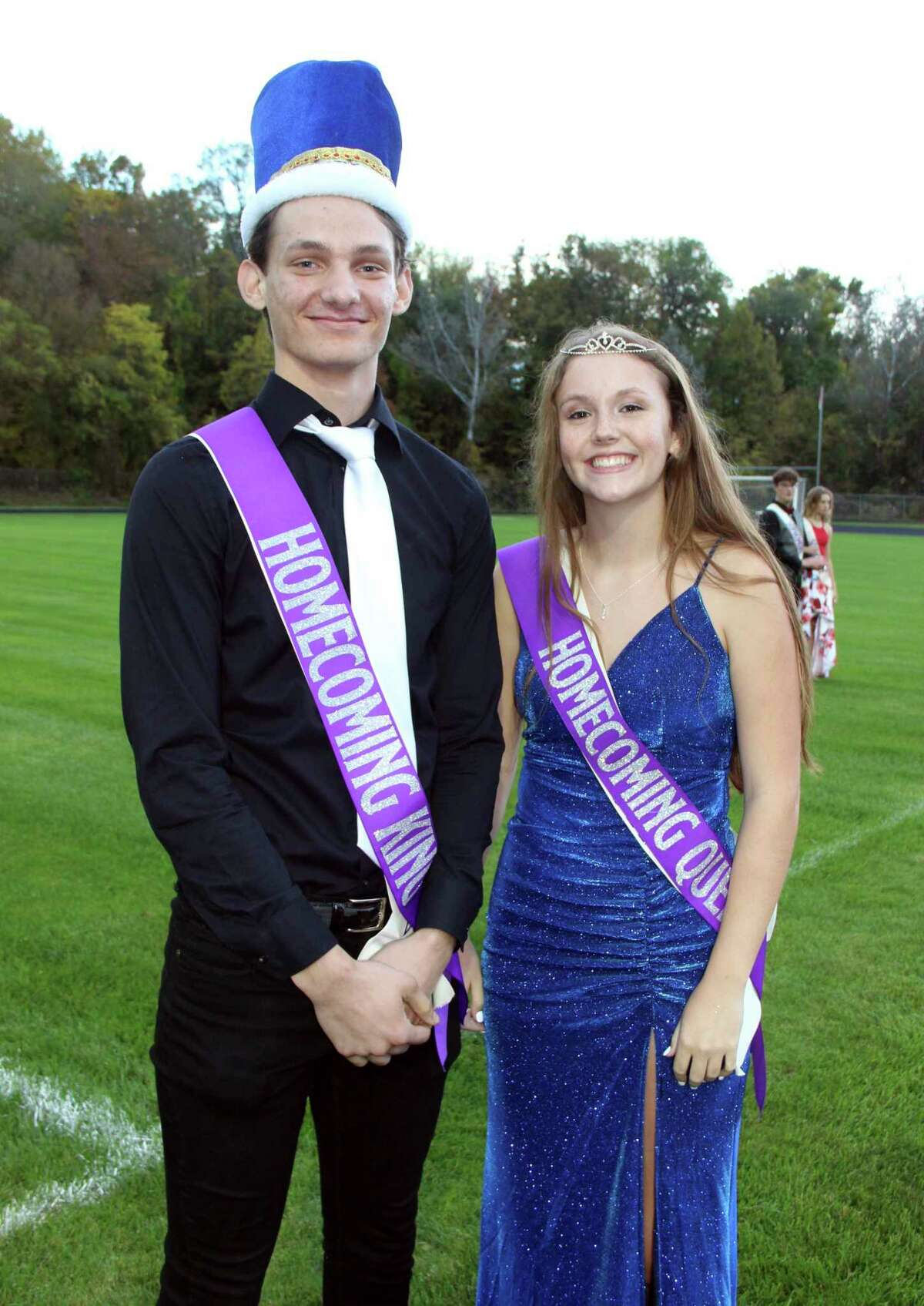 On Friday, Oct. 8, Crossroads Charter Academy crowned Luke Roman and Jessica Cole as this year's Homecoming King and Queen. (Courtesy photo)