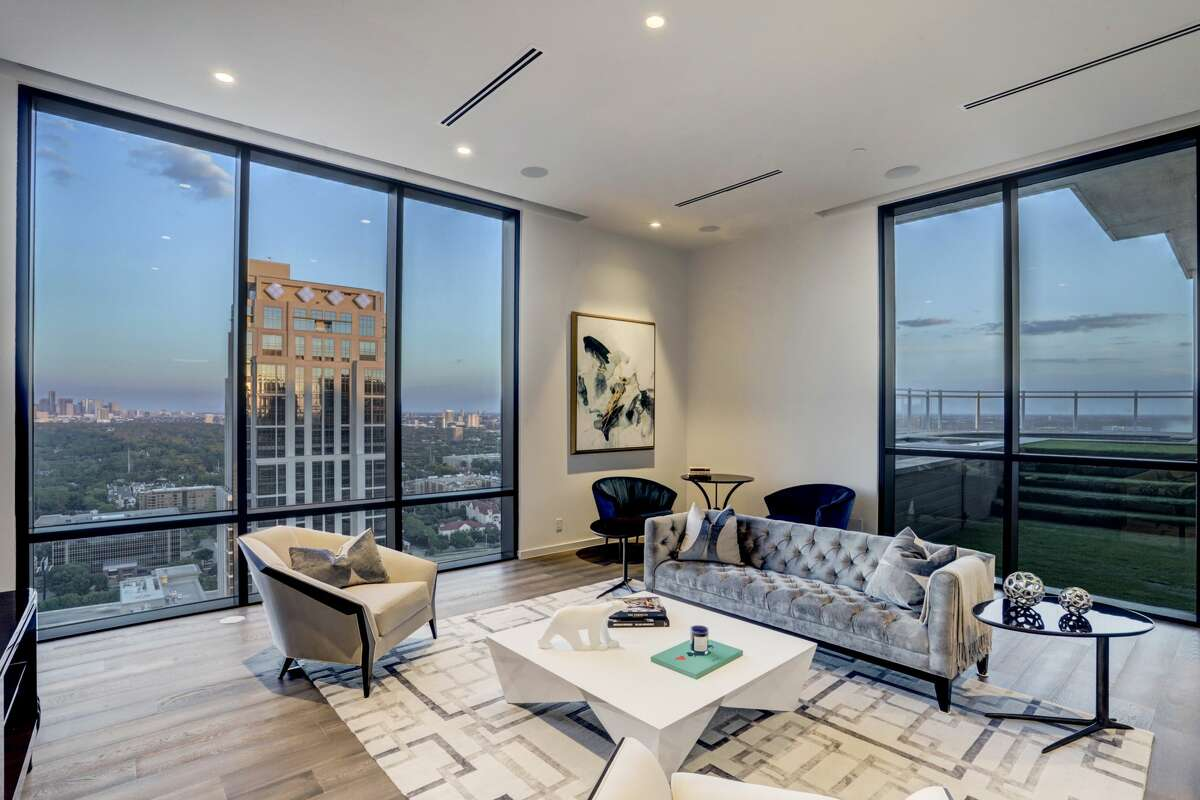This $8 million penthouse is for sale on Post Oak Boulevard.