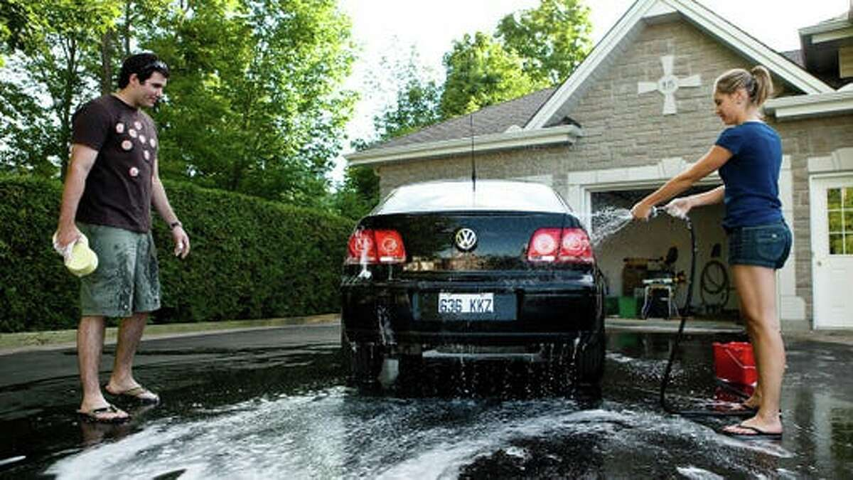 Getty Images Washing Your Car