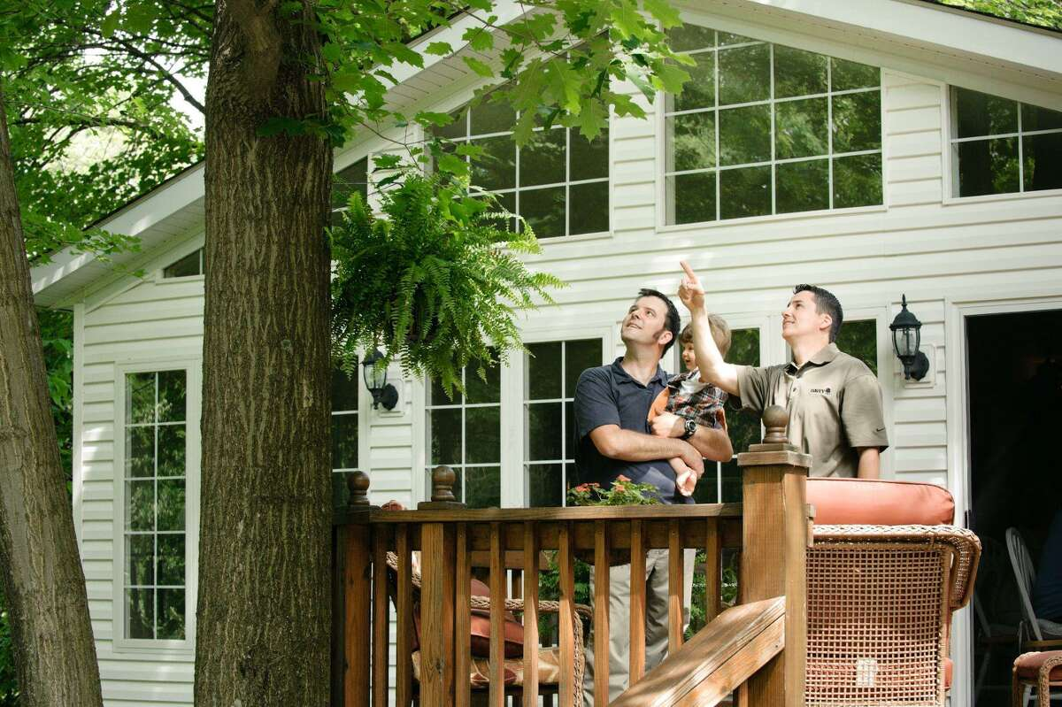 An arborist helps property-owners maintain the health, appearance, and structural soundness of their trees, said arborist Matt Petty from Davey Tree.