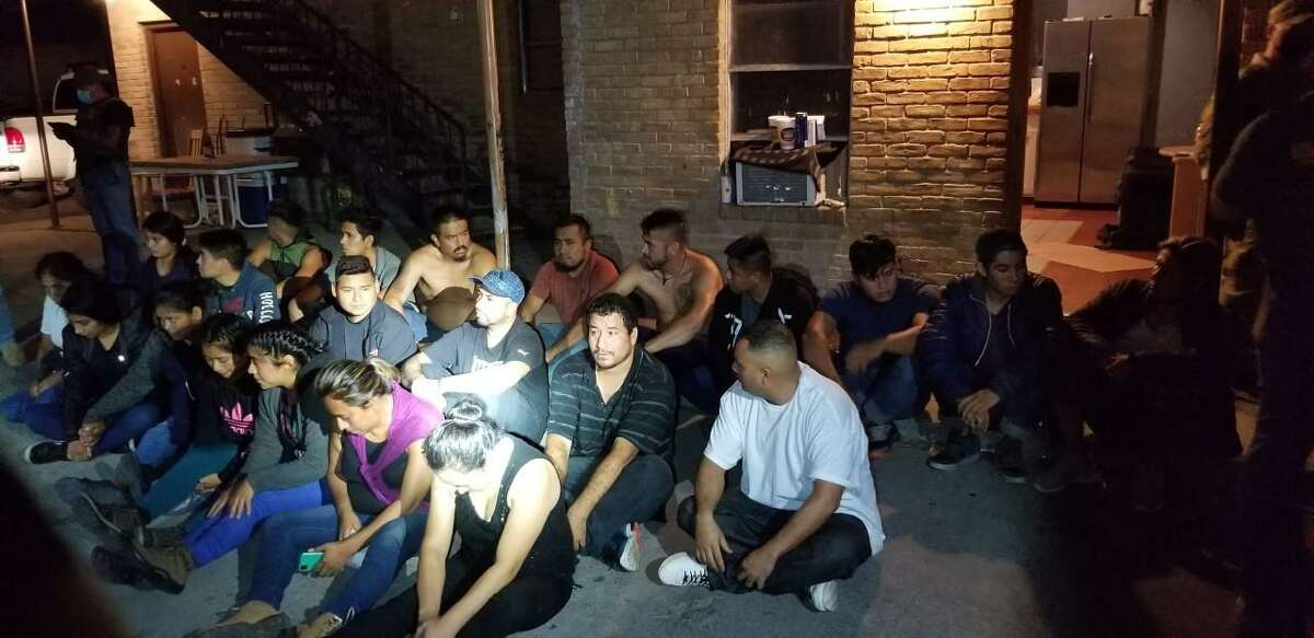 Law enforcement officials discovered 22 migrants inside a residence in the 1300 block of Philadelphia Street on April 26. Authorities said the residence was used to harbor the migrants.