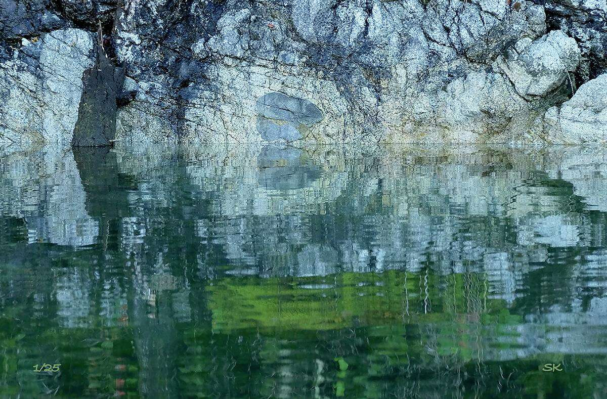 """The Washington Art Association's """"Ways of Seeing"""" exhibition on view Oct. 23 through Nov. 12 features the work of photographers Lazlo Gyorsok, Sallie Ketcham, Catherine Noren, and Vi Owens. Pictured, """"Where the Earth Meets the Water"""" by Sallie Ketcham."""