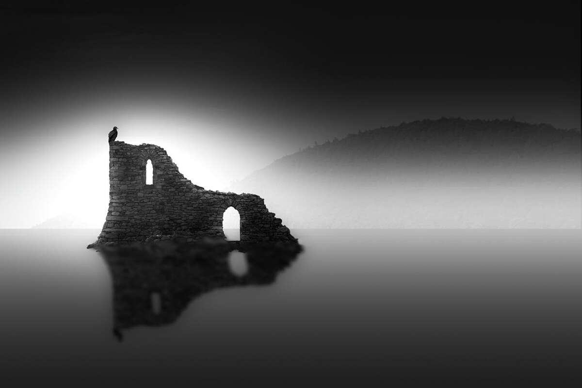"""The Washington Art Association's """"Ways of Seeing"""" exhibition on view Oct. 23 through Nov. 12 features the work of photographers Lazlo Gyorsok, Sallie Ketcham, Catherine Noren, and Vi Owens. Pictured, """"Ruins"""" by Lazlo Gyorsok."""