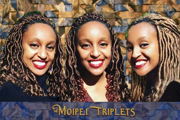 The Milford Arts Council, The MAC, and Pantochino Productions Inc., are welcoming The Moipei Triplets to The MAC's Nite Spot Nights event, at 8 p.m., Nov 6, to perform. The sisters are shown.
