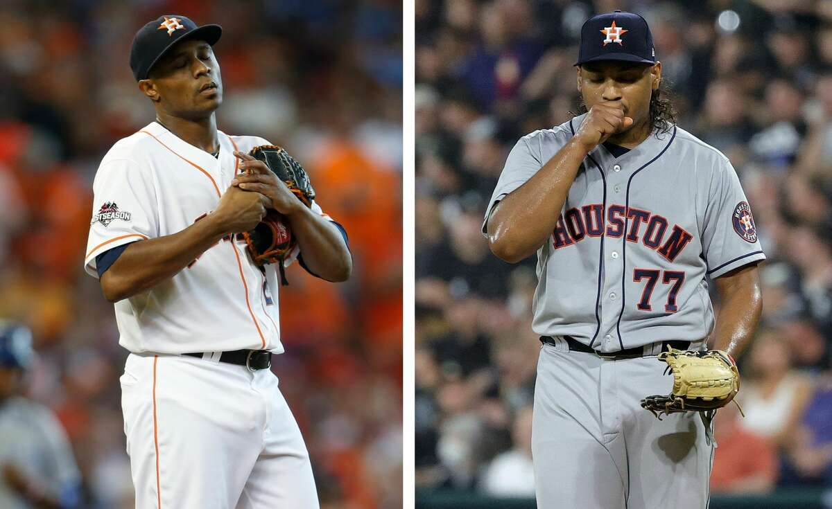 Tony Sipp had a rough ALDS inning for the 2015 Astros, and Luis Garcia had a rough one in 2021.