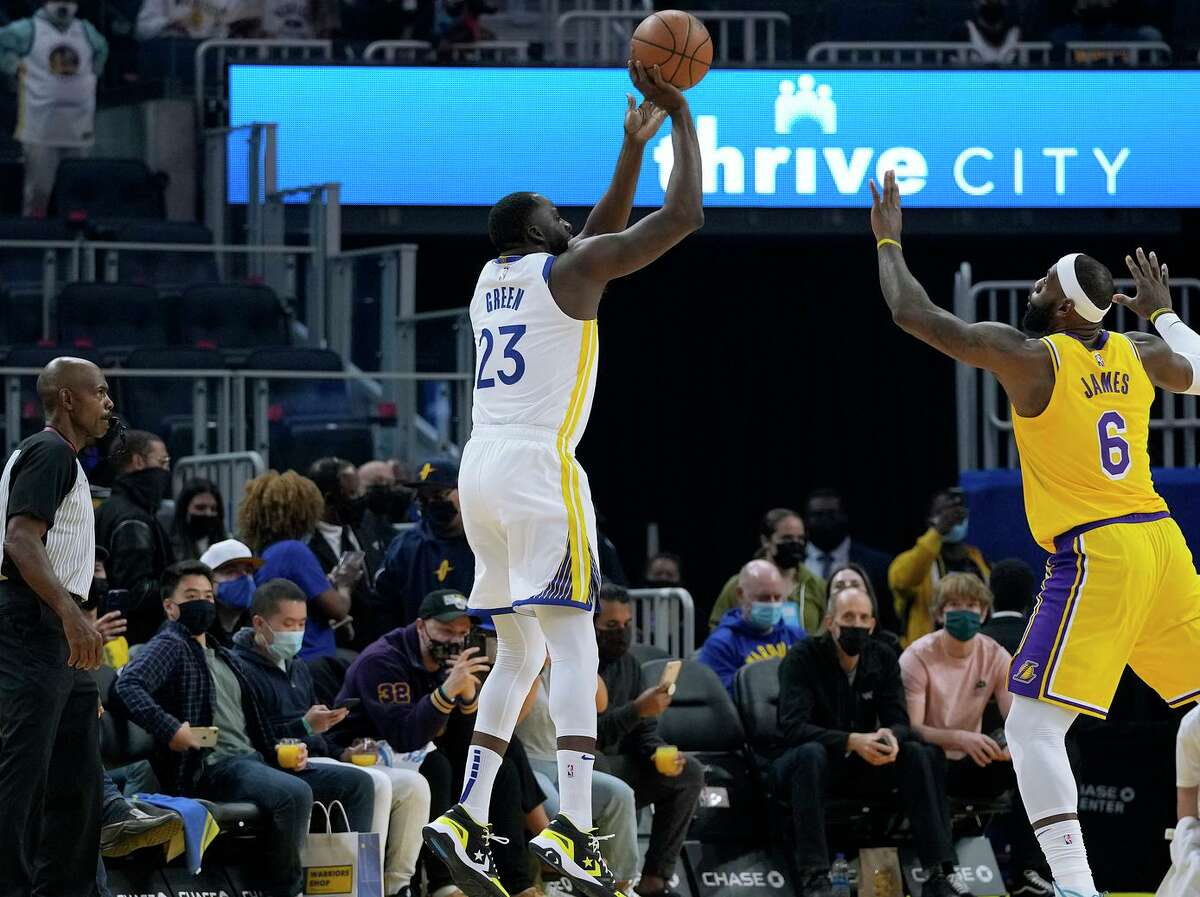 Draymond Green finished third in the Defensive Player of the Year voting last season and averaged 8.9 assists. He has never averaged more than 14 points in an NBA season.