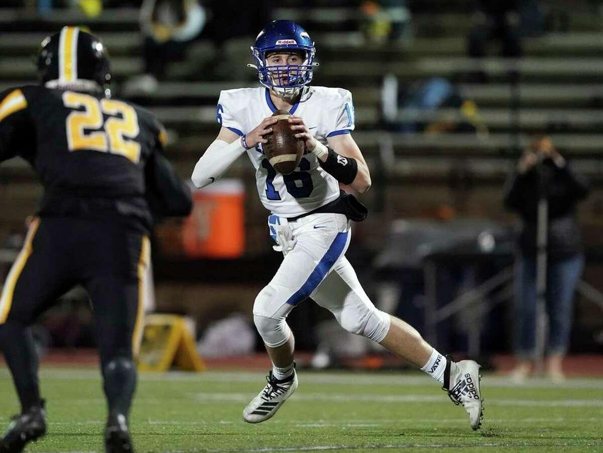 Quarterback Garrett Deatherage has thrown for 1,287 yards and 16 touchdownsfor resurgent Encinal-Alameda (5-1).