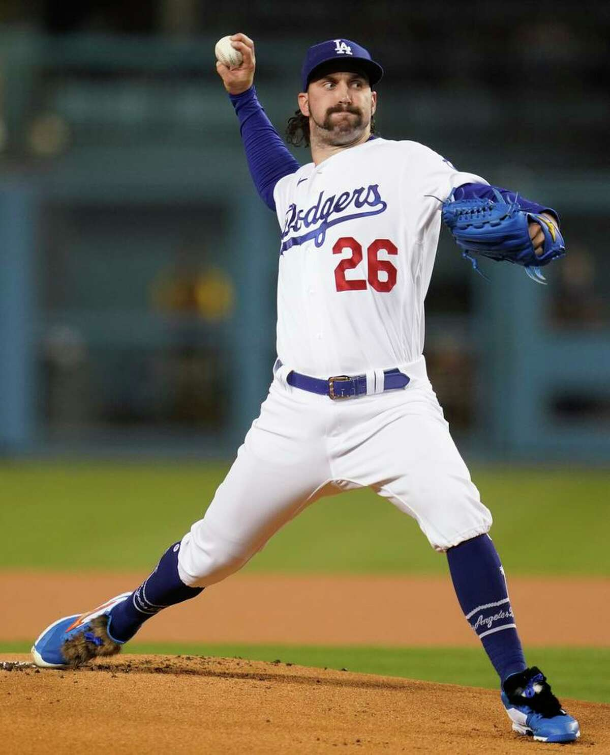 St. Mary's alum Tony Gonsolin has started three postseason games for the Dodgers.