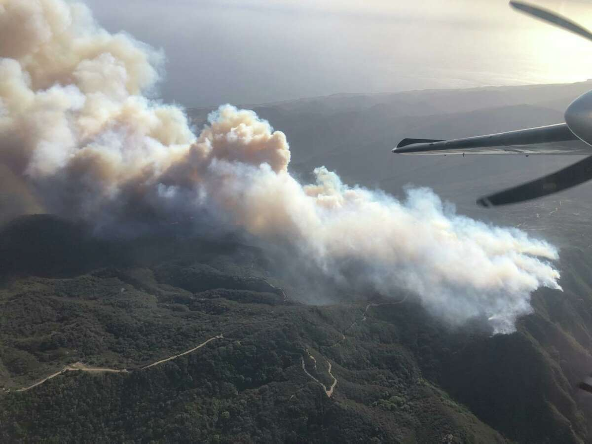 The Alisal Fire in Santa Barbara County quickly grew to about 1,000 acres, spurred on by wind gusts of up to 70 miles per hour, officials said.