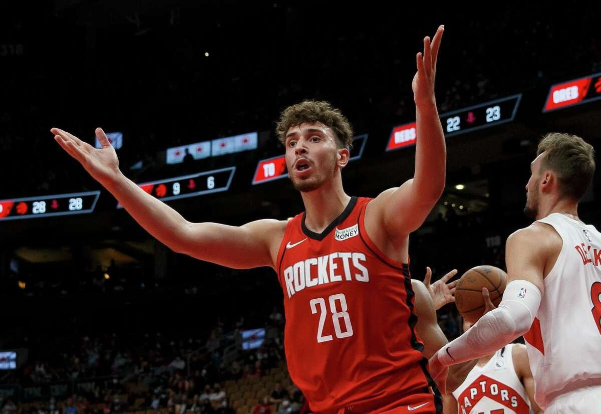 Monday was a frustrating night for rookie Alperen Sengun and the Rockets, who lost 107-92 at Toronto.