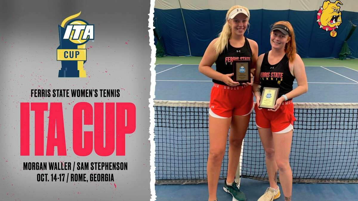 Sam Stephenson (left) and Morgan Waller, have been chosen to compete as at-large selections for the 2021 Intercollegiate Tennis Association (ITA) Cup set for this coming week in Rome, Ga. (Courtesy photo)
