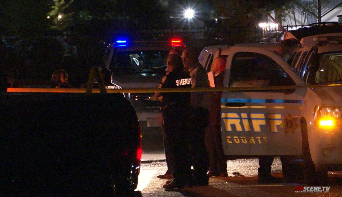 A man was shot and killed by a bounty hunter Monday night in west Harris County, according to the Harris County Sheriff's office.