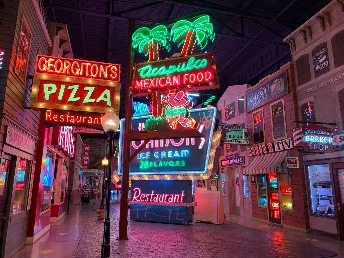 The American Sign Museum in Cincinnati is full of neon signage.