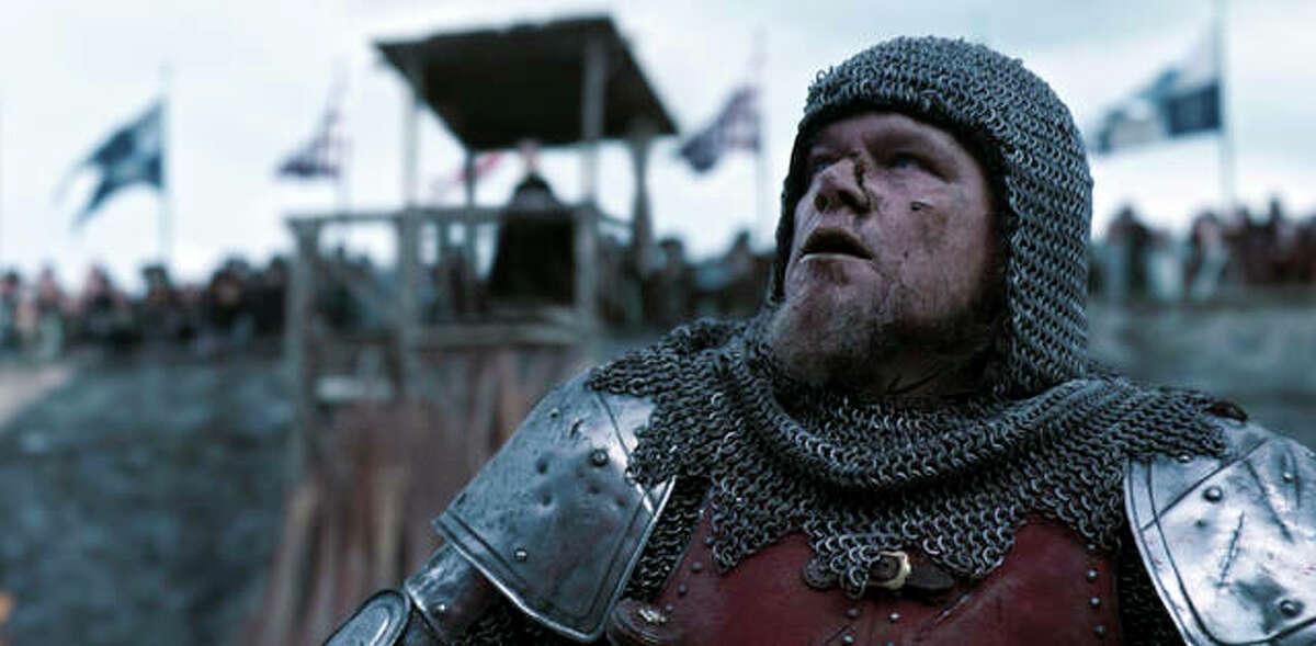 "Matt Damon is Jean de Carrouges in ""The Last Duel."""